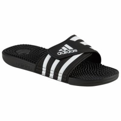 アディダス メンズ サンダル adidas Adissage Slide スリッパ Black/White