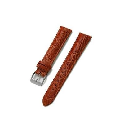 CASSIS[カシス] カイマン(ワニ革) 時計ベルト WOLFSBURG ヴォルフスブルク 18mm ゴールドブラウン 交換用工具付き U