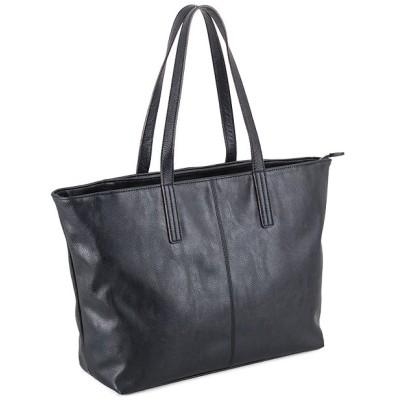 【カバンのセレクション】 アンクール トートバッグ un coeur メンズ レディース  311285 COLORS シンプル フェイク レザー 合皮 大容量 大きめ ユニセックス ネイビー フリー Bag&Luggage SELECTION