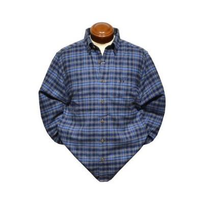 マクレガー ボタンダウン長袖シャツ メンズ 111179801 ネルシャツ 起毛 L/LL