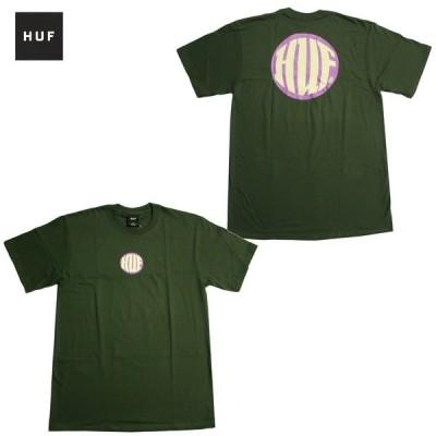 メール便可 HUF Tシャツ HI DEF S/S TEE [M.GREEN] TS01249 グリーン ハフ