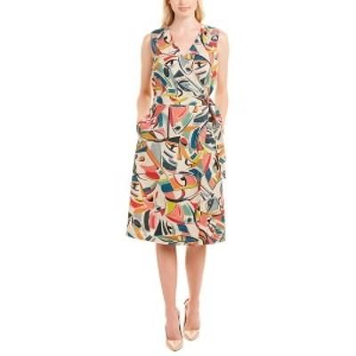 ラファイエットワンフォーエイト レディース ワンピース トップス Lafayette 148 New York Pammie Wrap Dress -
