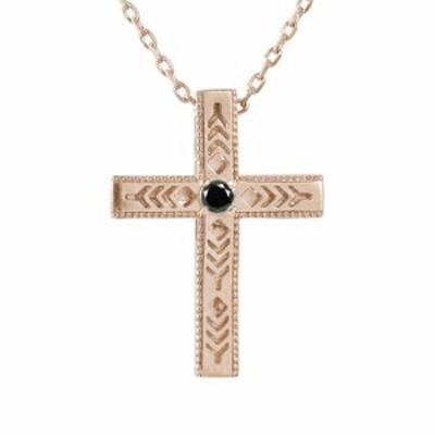 ネックレス インディアン シルバー ダイヤモンド ブラックダイヤモンド sv クロス 十字架 羽根 羽 フェザー メンズ SILVER ペンダント
