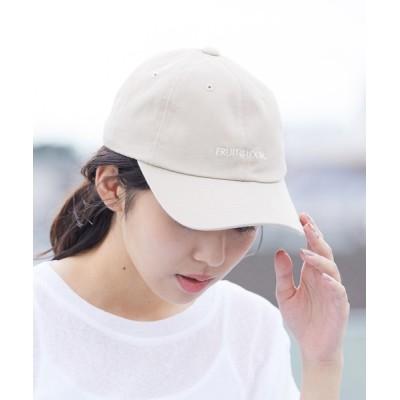 ViS / 【FRUITE OF THE LOOM】ツイルCAP WOMEN 帽子 > キャップ