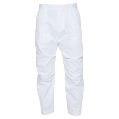 ディースクエアード DSQUARED2 パンツ ホワイト 50 コットン 97% / ポリウレタン 3% パンツ