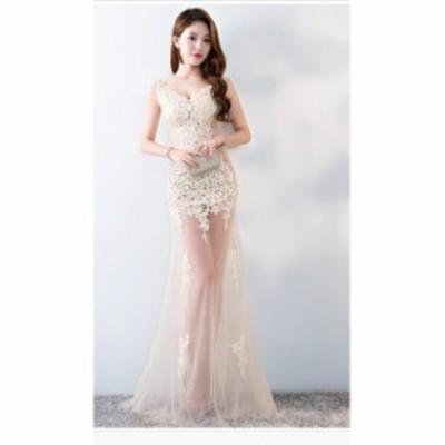 ブライダル 冠婚ワンピース 大きいサイズ 結婚式 花嫁 二次会 パーティードレス プリンセスライン ウエディングドレス 着痩せ 綺麗 きれ