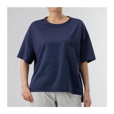 ミズノ ニットサッカー半袖Tシャツ[レディース] 13&nbspパトリオットブルー(b2ma020313)