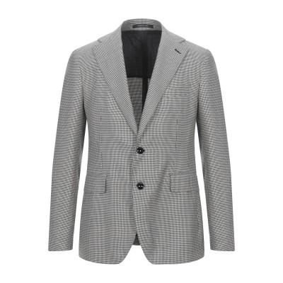 タリアトーレ TAGLIATORE テーラードジャケット ブラック 50 スーパー100 ウール 85% / シルク 15% テーラードジャケット