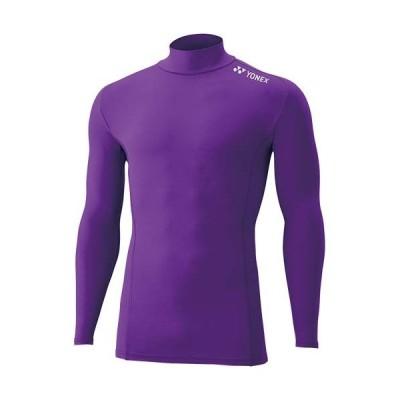 ヨネックス(YONEX) メンズ レディース ハイネック 長袖シャツ パープル STBF1015 039 アンダーウェア インナー トレーニングウェア スポーツウェア 部活
