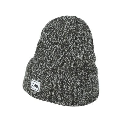 LEE 帽子 ミリタリーグリーン one size アクリル 80% / ウール 10% / レーヨン 5% / 毛(アルパカ) 5% 帽子