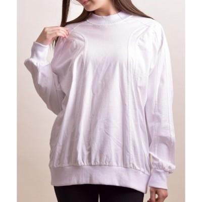 tシャツ Tシャツ 【white】スプリットラグラン切替TEE(LC)