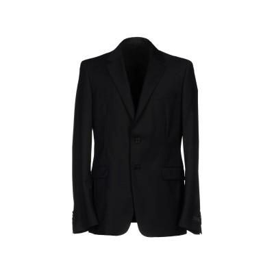 プラダ PRADA テーラードジャケット ブラック 46 ウール 84% / モヘヤ 16% テーラードジャケット