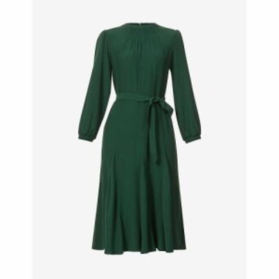セッスン SESSUN レディース ワンピース ミドル丈 ワンピース・ドレス Noralia crepe midi dress IRISH GREEN