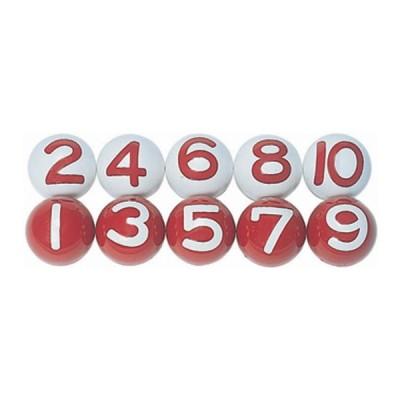 ニチヨー 公認ボール(10個セット) NICHIYO ゲートボール用品 NTY-NY10 返品種別A