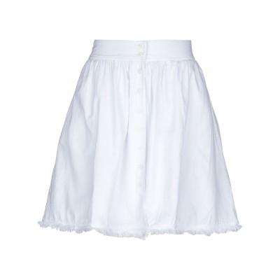 アメリカン ヴィンテージ AMERICAN VINTAGE ミニスカート ホワイト S コットン 100% ミニスカート