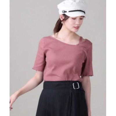 Right-on / 【HONEYSUCKLE ROSE】アシメネックプルオーバー WOMEN トップス > Tシャツ/カットソー