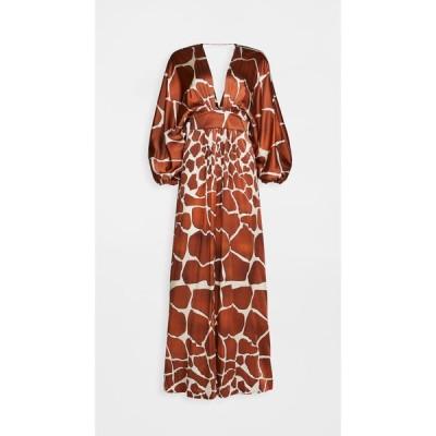 レトロフェット Retrofete レディース ワンピース ワンピース・ドレス Lila Dress Giraffe