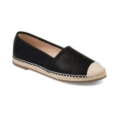 ジャーニーコレクション サンダル シューズ レディース Women's Rosela Flats Black