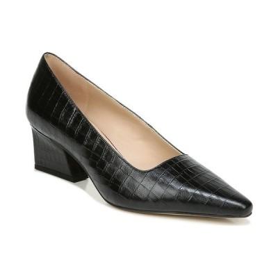 フランコサルト パンプス シューズ レディース Samira Pumps Black Crocco Leather