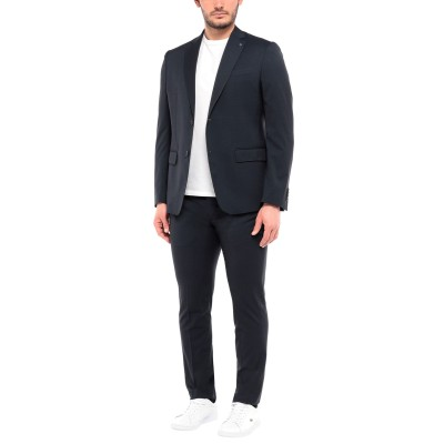BARBATI スーツ ダークブルー 56 ポリエステル 77% / レーヨン 22% / ポリウレタン 1% スーツ