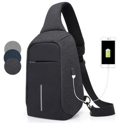 ボディバッグ メンズ レディース ワンショルダー おしゃれ カバン かばん 鞄 軽量 斜めがけ USB充電ポート アウトドア 男女兼用 バッグ ショルダーバッグ