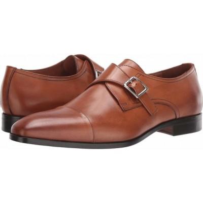 マッテオ マッシモ Massimo Matteo メンズ 革靴・ビジネスシューズ シューズ・靴 Desk Single Monk Brandy