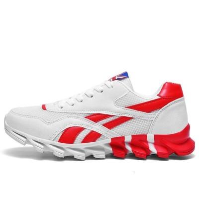 2020新しいメンズ靴高品質カジュアルメンズ靴スニーカー男快適なブレード底Zapatos Hombreビッグサイズの靴39-47 White 11