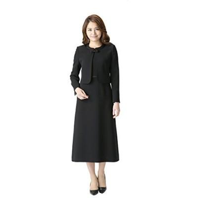 (マーガレット)marguerite m456 ブラックフォーマル 喪服 礼服 レディース アンサンブル ワンピース ロング丈