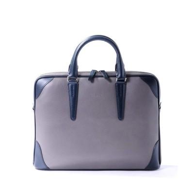 [フジタカ] レザービジネスバッグ A4ジャスト ジェードレザーII No.616501 グレー