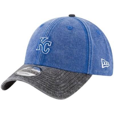 ユニセックス スポーツリーグ メジャーリーグ Kansas City Royals New Era Rugged 9TWENTY Adjustable Hat - Royal - OSFA 帽子