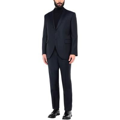 LUBIAM スーツ ダークブルー 60 バージンウール スーツ