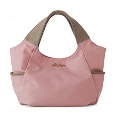 FELISSIMO(フェリシモ)【送料無料】使いやすさ5つ星! 大荷物さんのこだわりが詰まった軽心地バルーントートバッグ 〈ピンク〉
