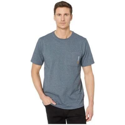 ティンバーランド Timberland PRO メンズ Tシャツ トップス Base Plate Blended Short Sleeve T-Shirt Navy Heather