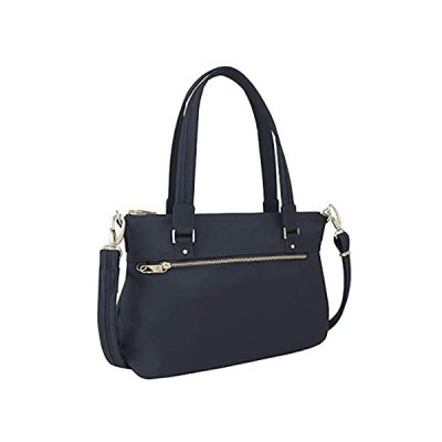 Travelon Women's Anti-Theft Tailored Satchel, Sapphire, One Size