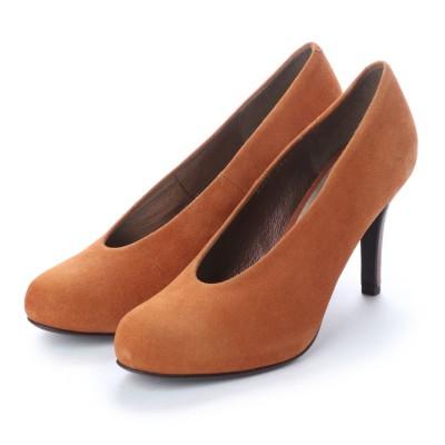 アンタイトル シューズ UNTITLED shoes パンプス (キャメルスエード)