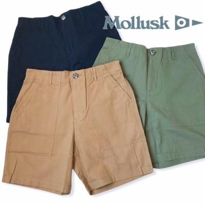 送料無料 MOLLUSK【モラスク】SALVADOR SHORTS サルバドール ショーツ ショートパンツ メンズ(男性用)