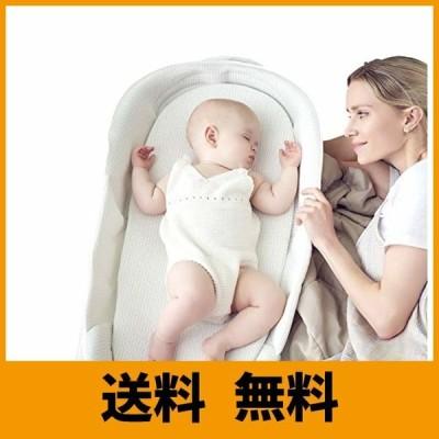 【ベビーアムール】Bebamour ベビーベッド 折りたたみ式 ベッドインベッド 添い寝 簡易ベッド 新生児 携帯型ベビーベッド 通気性抜群 高さ調整