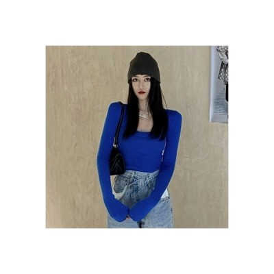【送料無料】襟 ボトムシャツ セーターの女性 秋冬 着やせ 着やせ 西洋風 何でも似 | 364331_A64006-5117810