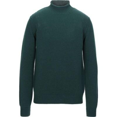 トラサルディ TRUSSARDI JEANS メンズ ニット・セーター トップス turtleneck Dark green