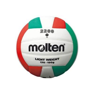 【バレーボール】MOLTEN(モルテン) 2200 4号球 軽量(練習球)V4C2200L【350】