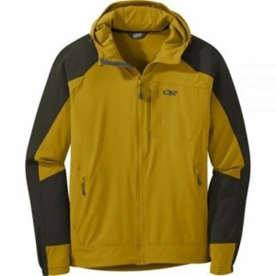アウトドアリサーチ Outdoor Research メンズ ジャケット フード アウター Ferrosi Hooded Jacket Turmeric/Forest