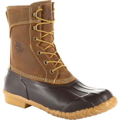 ジョージアブーツ Georgia Boot メンズ ブーツ シューズ・靴 Marshland Unisex 8-inch Duck Boot brown