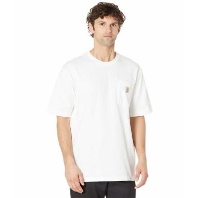 カーハート シャツ トップス メンズ Workwear Pocket S/S Tee K87 White