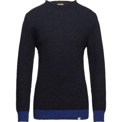 ファイバー FIVER メンズ ニット・セーター トップス Sweater Dark blue