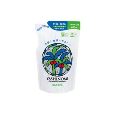 (5個セット)サラヤ ヤシノミ洗剤詰替え 480ml まとめ買い