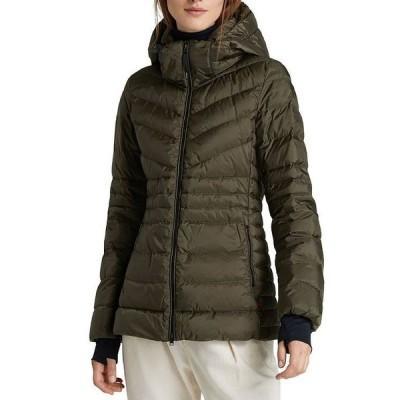 ウール リッチ レディース ジャケット・ブルゾン アウター Tech Hooded Puffer Coat