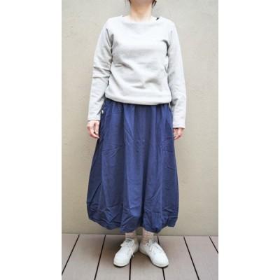 SALE バルーンスカート Emago イマゴ  ギャザーポケットバルーンスカート (ネイビー)