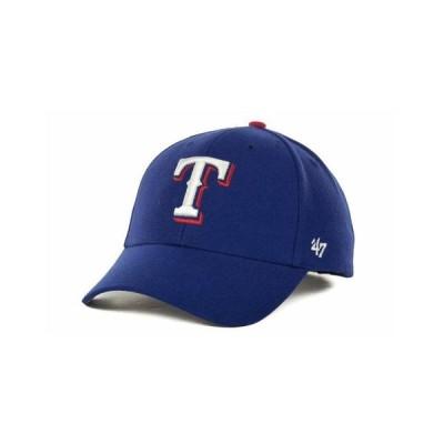 47ブランド メンズ 帽子 アクセサリー Texas Rangers MLB On Field Replica MVP Cap
