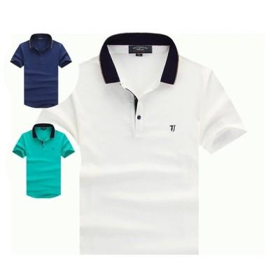 TACE&SHARK ポロシャツ メンズ 半袖ポロ 秋冬 ゴルフシャツ スポーツ Polo Shirt 半袖ポロシャツ hpro810