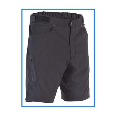 ZOIC Men's Ether 9 Cycling Shorts, Black, X-Large[並行輸入]